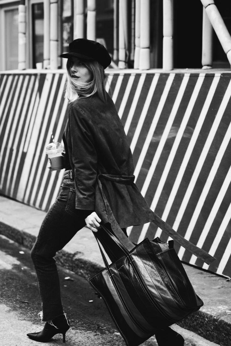 Sarah Mikaela Balenciaga Selfridges Tote Bag
