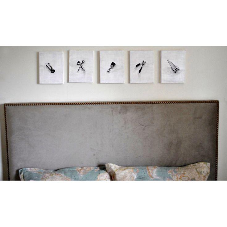 Respaldo de cama en velvet!  Www.decoalcubo.com.ar