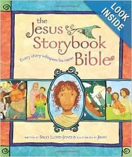 This is an overview of the whole Bible through the lens of God's plan to save us from the beginning.  My kids couldn't wait to see what would happen next!