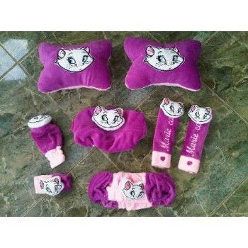 Bantal Mobil Set 6 In 1 Marie Cat Ungu https://www.bukalapak.com/chamboja