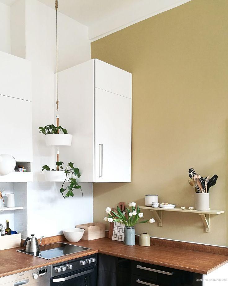 Streich die Küche! Wandfarben online bestellen auf www.kolorat.de und sofort loslegen. #kolorat #wandfarben #onlinebestellen #streich