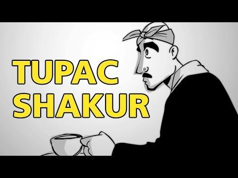 The animated video and interview is part of the PBS Digital Studios excellent series Blank on Blank :   Listen To Tupac Shakur's Thoughts On Life, Death, And Racism