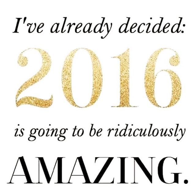 I'm excited! Are you excited? Get excited!!!! #newyear #newyear2016 #2016: