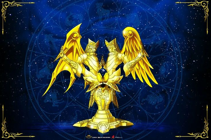 Géminis Kamui Divina Saint Seiya Soul of Gold