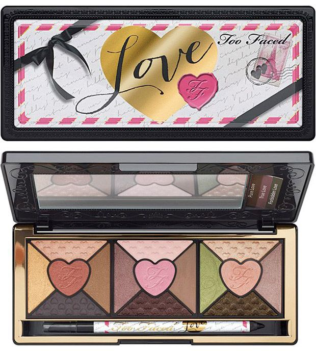 too faced palette love