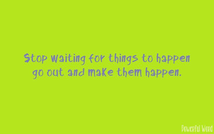#makethemhappen #powerfulword #mbijak