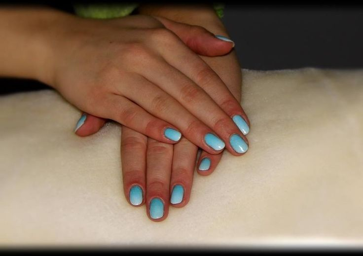 #ombre #hybrid #nails