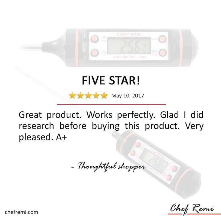 Shop accurate food thermometer at Chefremi.com. Get 15% OFF when you place your order. #thermometer #bbq #grill