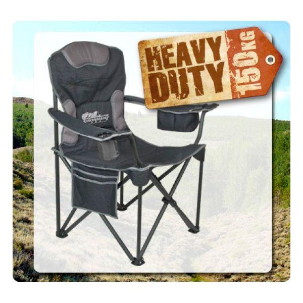 Silla de Camping con apoya brazos suave  con 21% de descuento