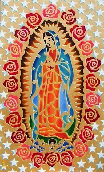 Federico Archuleta, Graffiti Artist, Virgen de Guadalupe