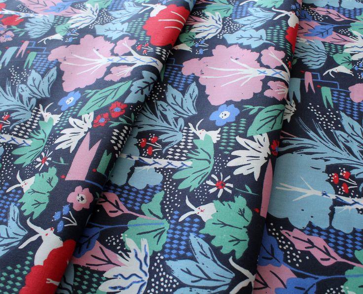 Birch Fabrics Wonderland Main Dusk
