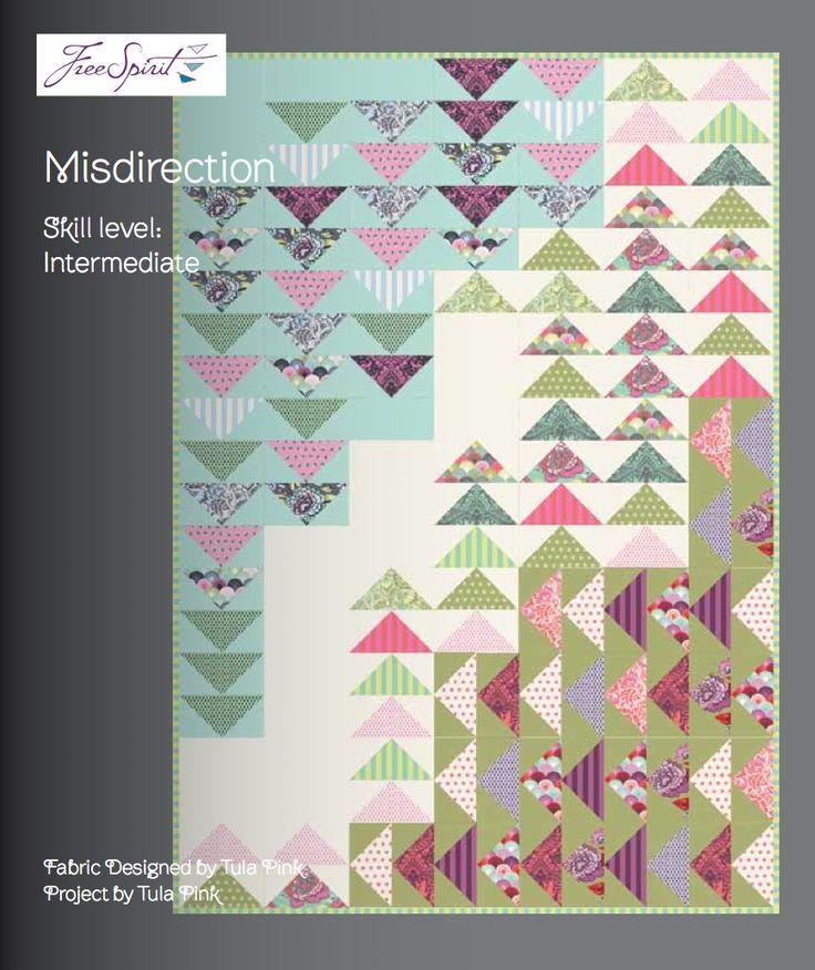 tula-pink-elizabeth-misdirection-quilt: