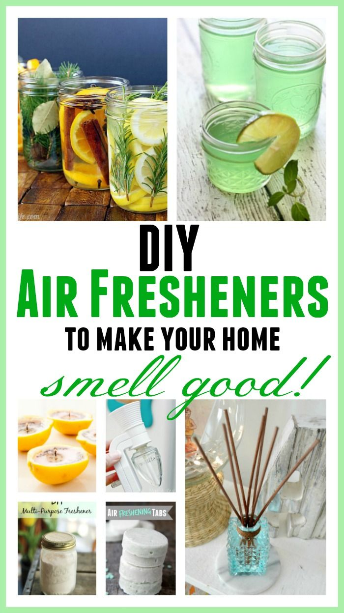 These simple DIY Air Fresheners are inexpensive to make and will leave your home smelling great in no time!