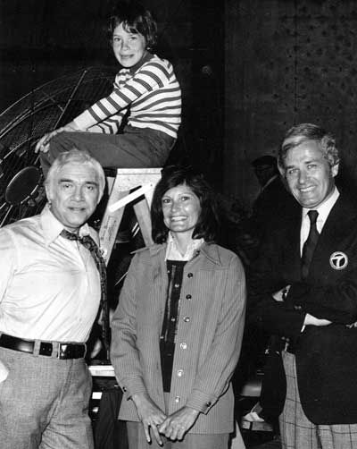 Photo of Lorne Greene and His children