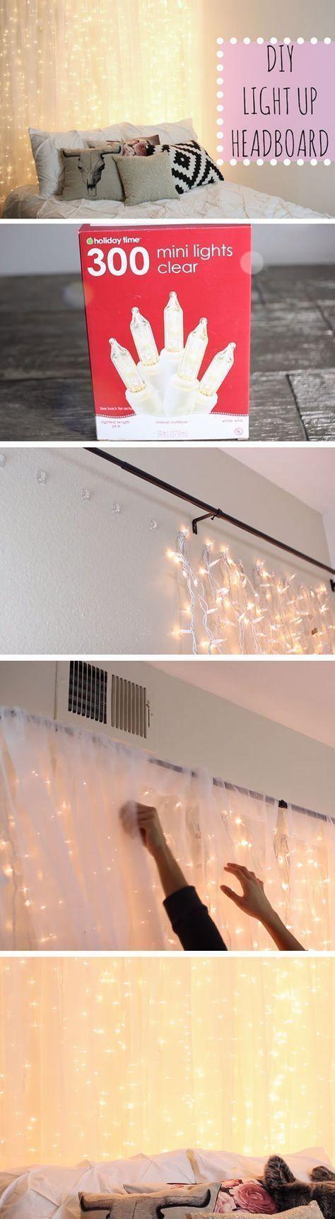 18 DIY Tumblr Dorm Room Ideas for Girls