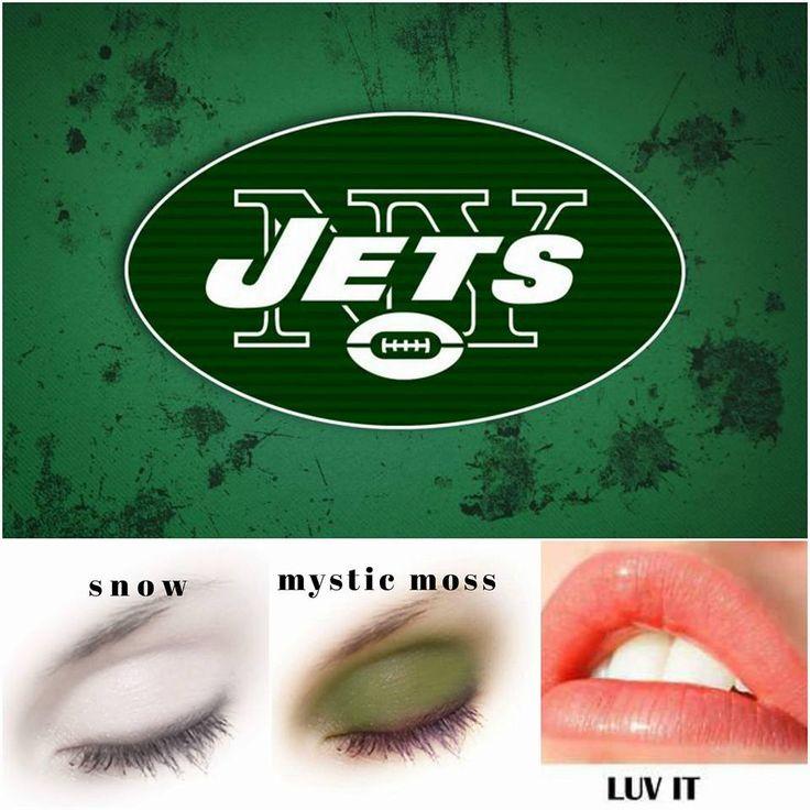 Who are you cheering for? #Jets  #NFL #fans #teamspirit #football #SeneGence #LipSense #ShadowSense www.senegence.com/TimelessEleganceByTara