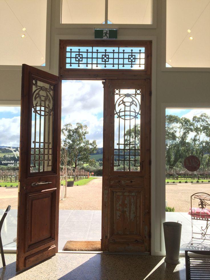 Our beautiful antique French Doors to our Cellar Door #ArtwineCellarDoor
