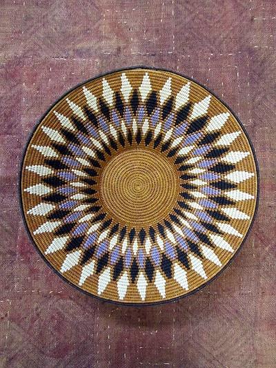 Beautiful pattern on this Sisal Bowl