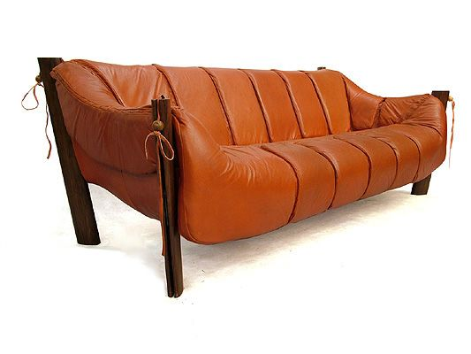 Percival Lafer Leather Sofa 1970s Coveted Furniture