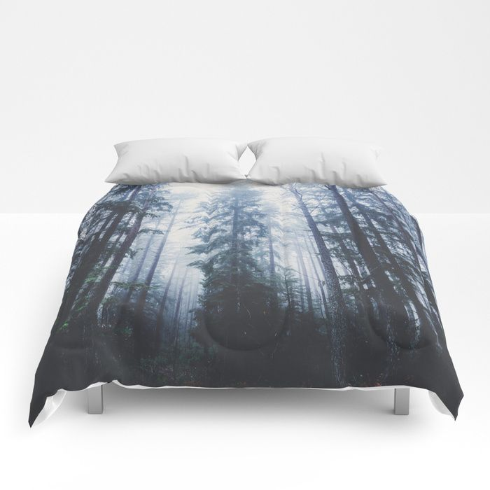 The mighty pines Comforters by HappyMelvin. #homedecor #nature #wanderlust #forest #comforters