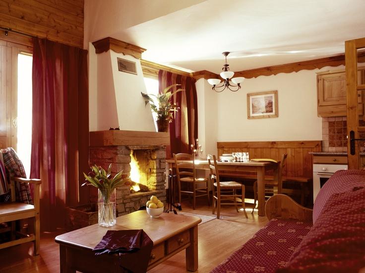 Living room Oz en Oisans Chalet Alpe d'Huez