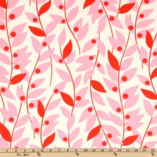 Nicey Jane Lindy Leaf Pink