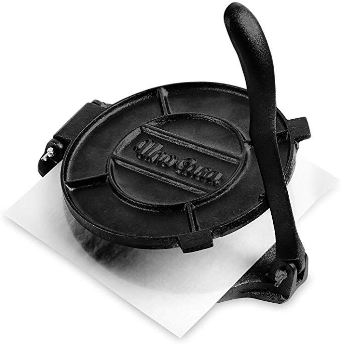 """Victoria 8/"""" fonte Tortilla Press et pataconera Original Made in Colombia"""