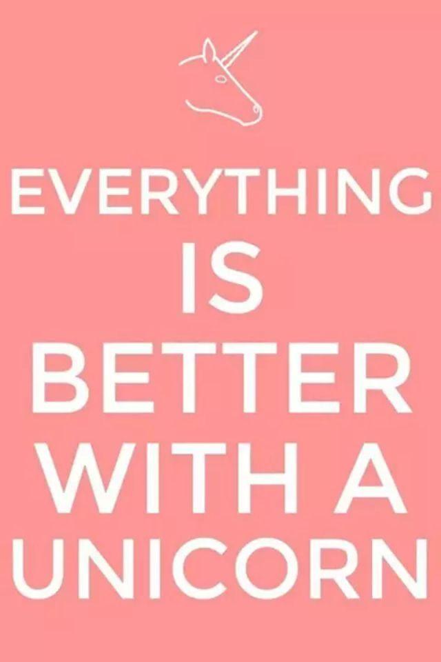 Quote! Love unicorns!!!