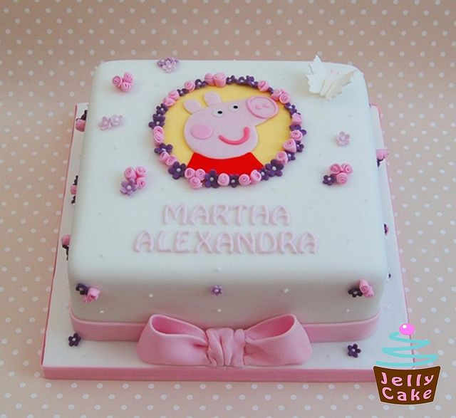 Birthday Cake Design Sites : 48 best images about Peppa Pig on Pinterest Decorating ...