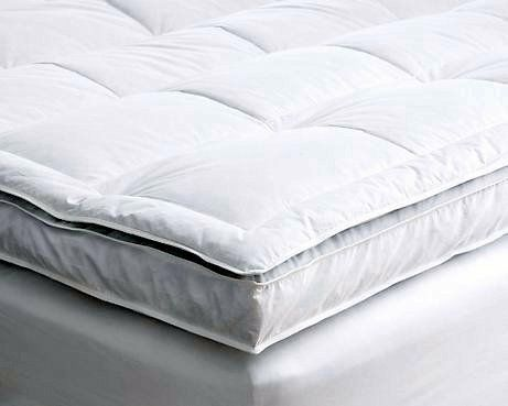 Presidential Suite Double Layer Down And Feather Mattress Topper Slept On One Of