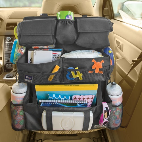 Backseat Entertainment Car OrganizerStep Ahead, Backseat Entertainment, Cars Organic, Travel, Kids, Roads Trips, Cars Trips, Backseat Cars, Car Organizers