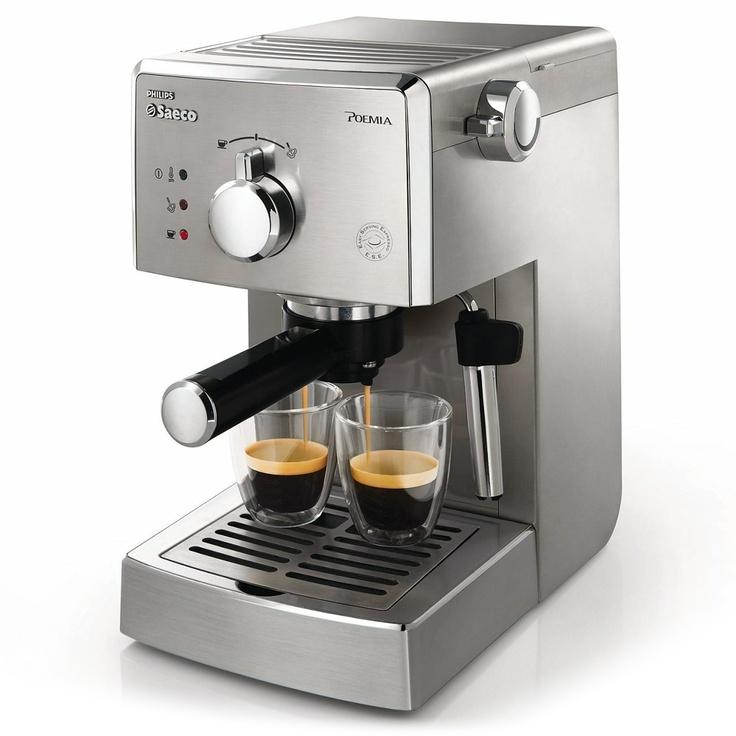 Phillips Saeco Poemia Best espresso machine, Espresso