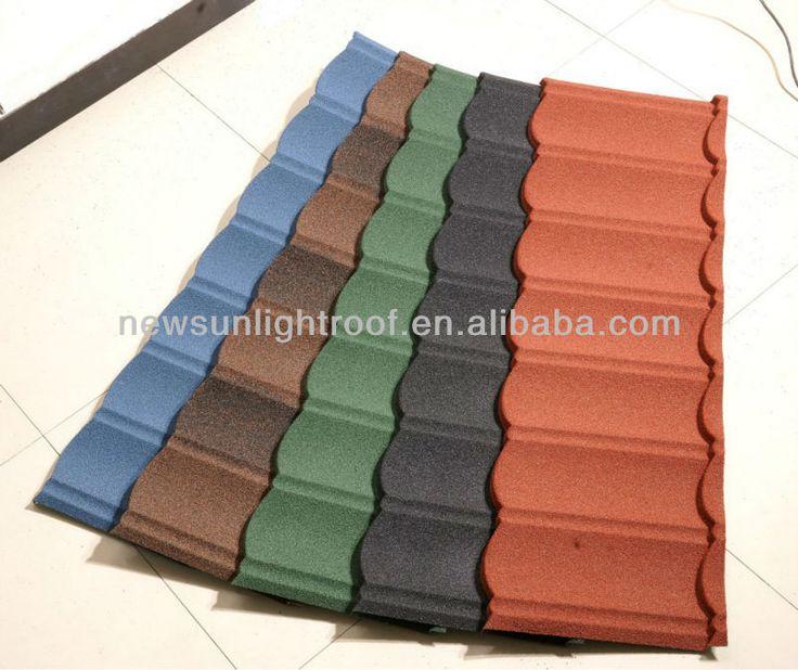 Aluminum Zinc Roofing Sheet 1340*420*0.4mm,Stone Coated Metal Roof, · Metal Roof  TilesConstruction MaterialsPaint ...