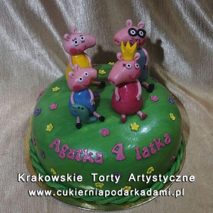 121. Tort świnka Peppa. Peppa the pig cake.