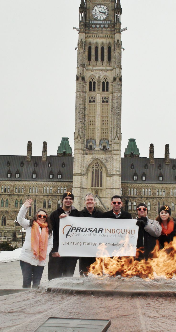 HubSpot Partner Agency PROSAR is on top of the Canadian capital's inbound marketing game!