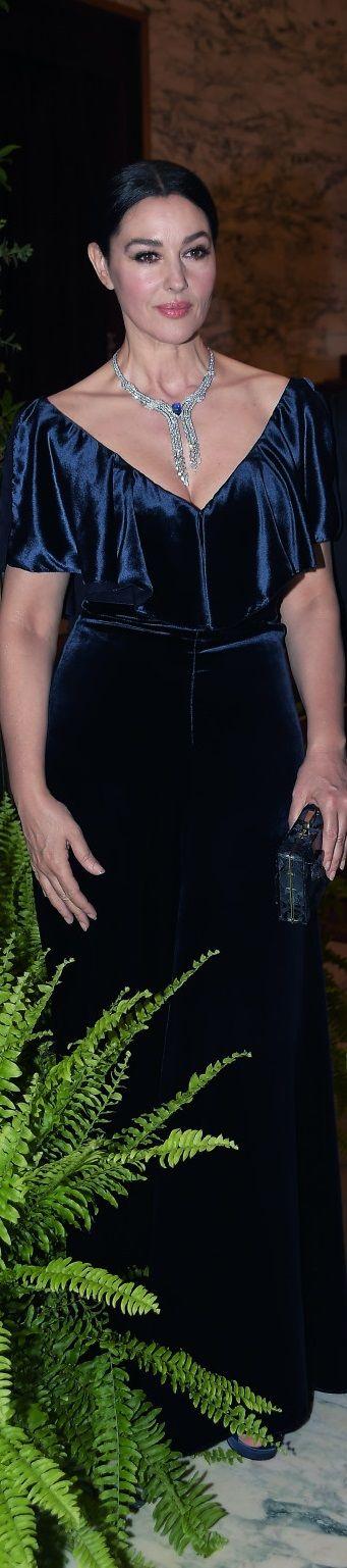 Monica Belluci in Valentino  Traviata premiere,Rome