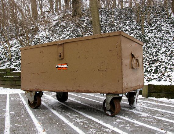 Industrial KNAACK Tool Box on Casters - Winter Restoration Project. $300.00, via Etsy.