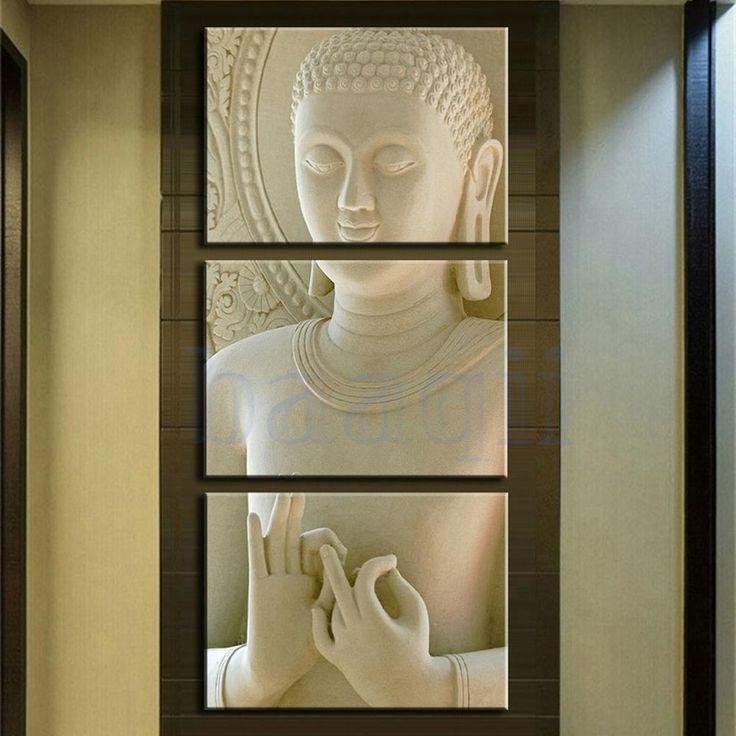 best 25 buddha wall art ideas on pinterest buddha art buddha painting and zen painting. Black Bedroom Furniture Sets. Home Design Ideas
