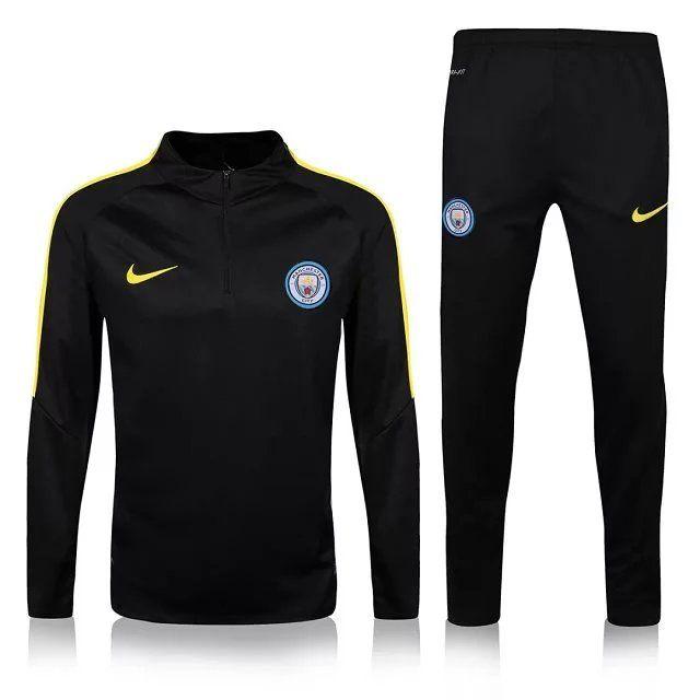 Manchester City 2016 Black Sweatsuit