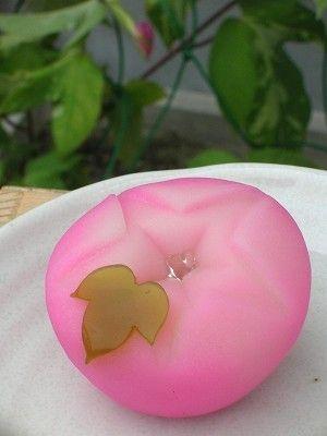 """Japanese sweets -wagashi- titled """"Morning Dew"""""""