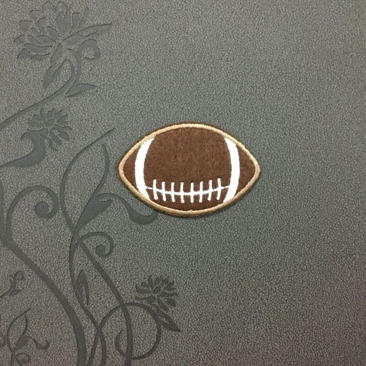 USA Football Iron on patch Iron on Applique Cartoon Sport hat patch bag patch Embroidered sew on patches