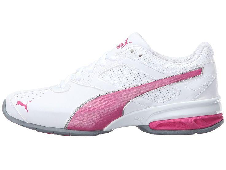 PUMA Tazon 6 Wide FM Women's Shoes Puma White/Fuchsia