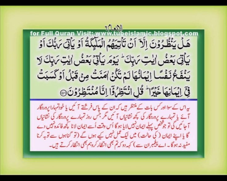 The Holy Quran Urdu Translation with Urdu Text Chapter 8