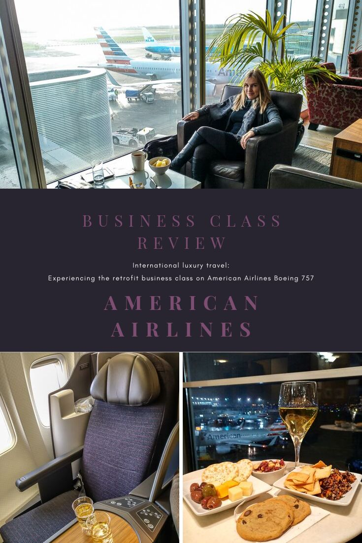 American Airlines 757 Business Class Review in 2020
