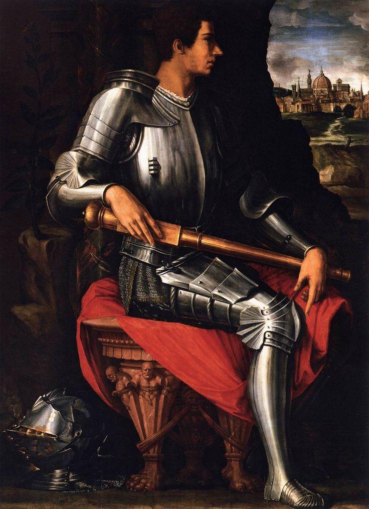 Giorgio Vasari,Portrait of Duke Alessandro de' Medici, 1534    What a sexy portrait man...