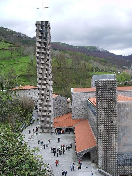 Santuario de Aranzazu, de Francisco Javier Sáenz de Oiza