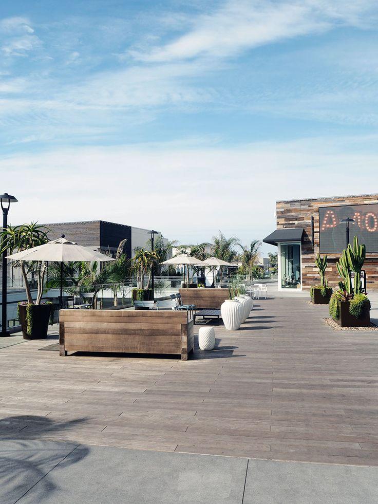 Pacific City shopping mall in Huntington Beach, California