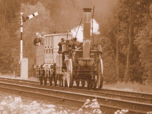 The original Stephenson loco Rocket won the Rainhill trials