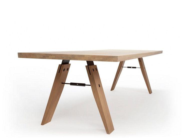 Mesa retangular de jantar BRANCH by Odesi | design Marc Th. Van der Voorn