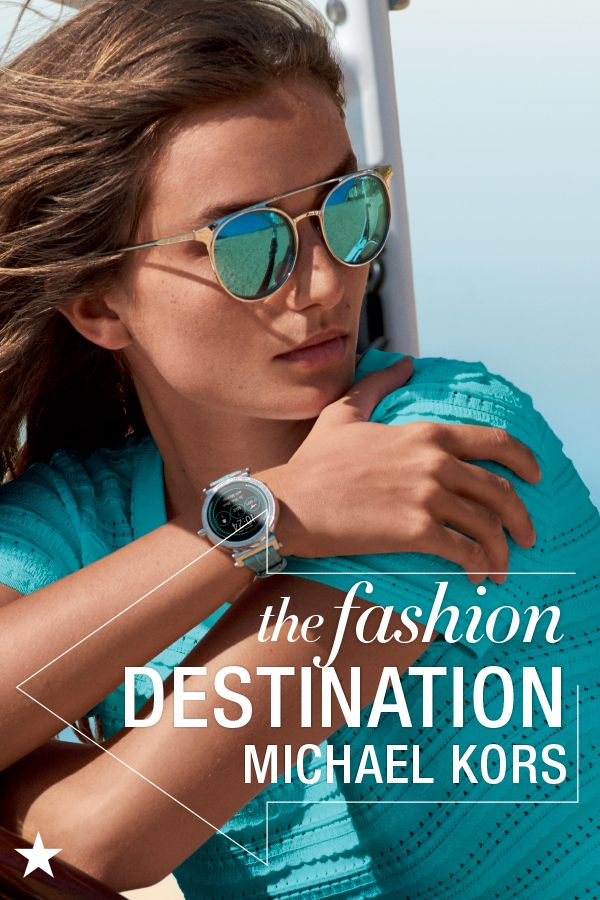 Set your sights on the beautiful accessories in the new spring 2018 collection from Michael Kors. From smart watches that are actually stylish to the latest sunglass trends, find everything you need to complete your look with Michael Kors at Macy's. Click to shop.